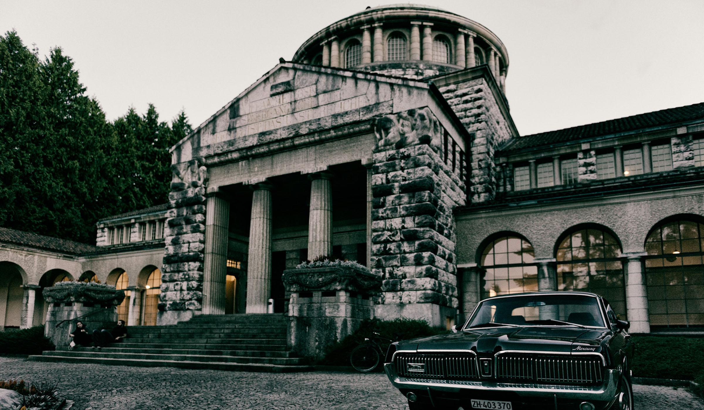 Friedhof forum ehemaliges krematorium sihlfeld open for Gartengestaltung kinderfreundlich